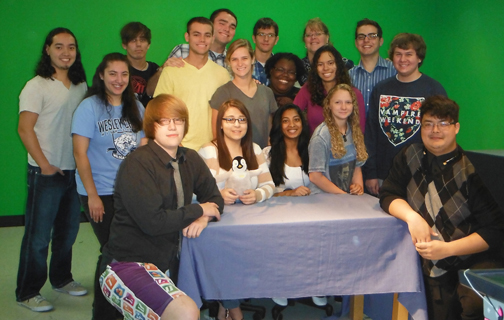 Class of 2014 Advanced TV Production sm
