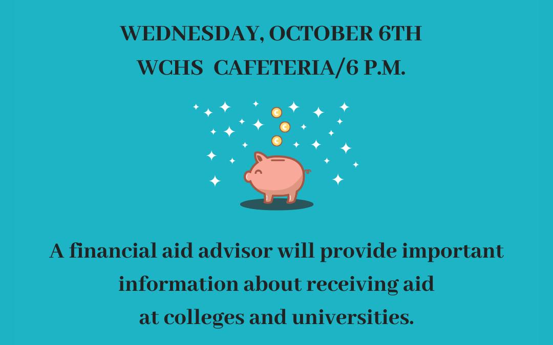 WCHS Financial Aid Night